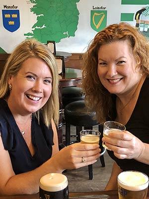 Erin and Bridget